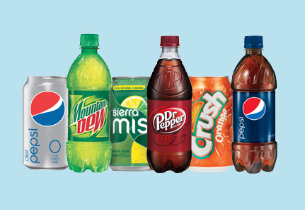 Pepsi beverage products