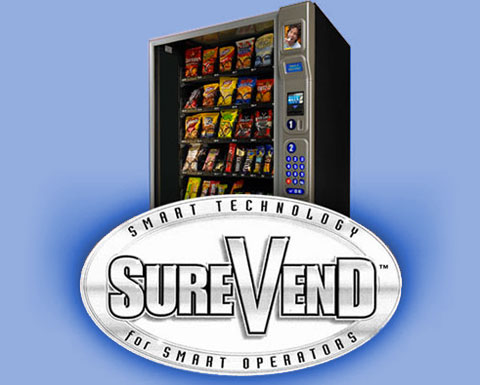 SureVend smart technology for guaranteed product delivery