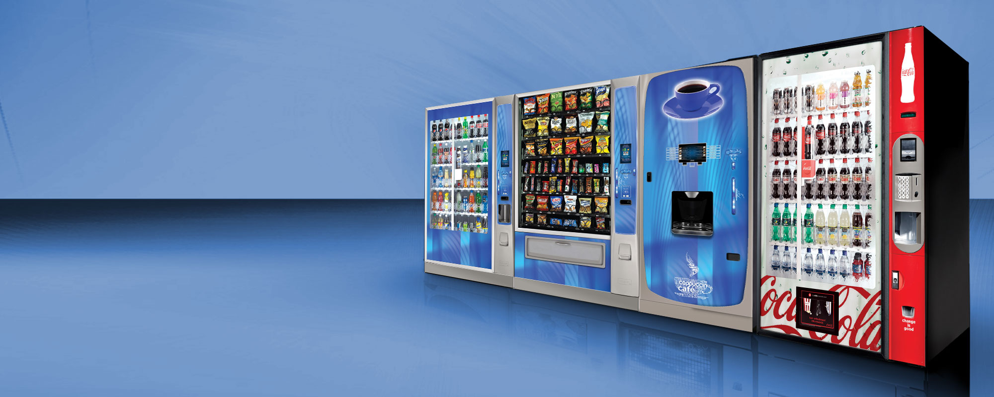 Vending machines in Detroit and Troy